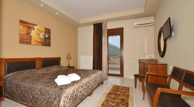rooms in loutra Pozar