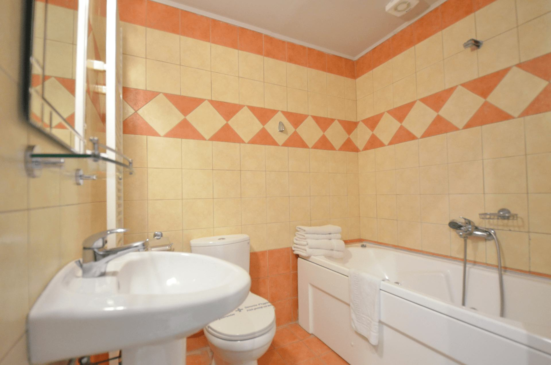 wc at room with fireplace