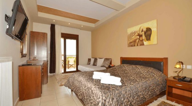 Triple rooms in Loutraki Pella