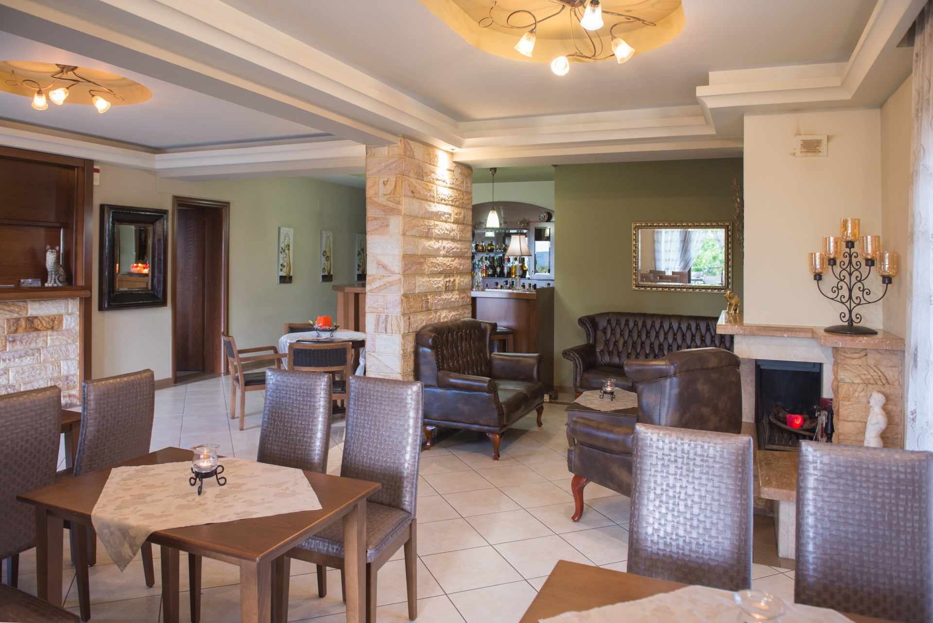 Philippion hotel Lobby
